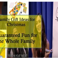 family gifts for Christmas