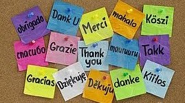 thank you in different languages around the world