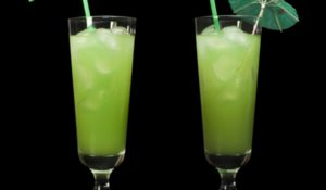 green cocktails recipes