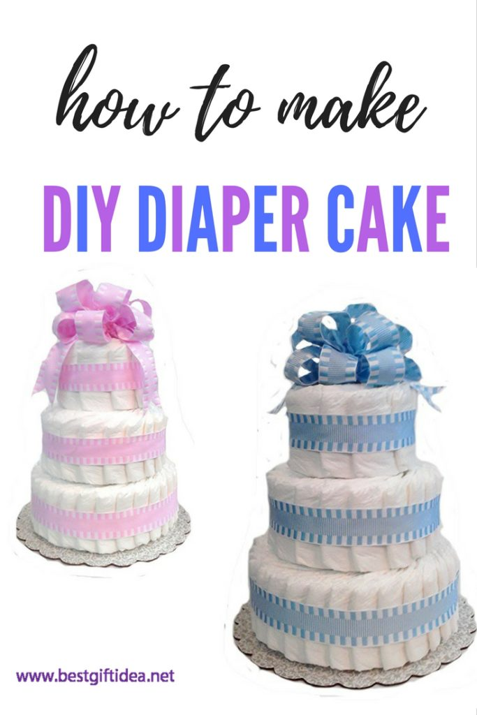 Easy Diaper Cake Ideas