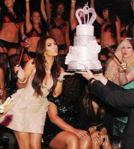 kim kardashian bachelorette party