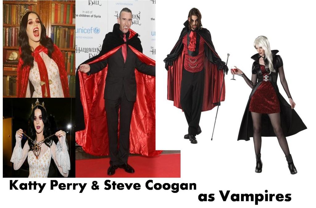 Vampire Costume for her for him