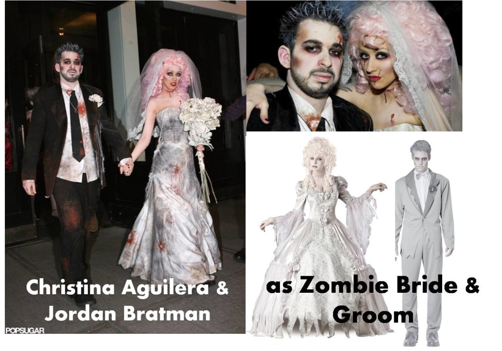 Image source: Click to check Zombie Bride Zombie Groom