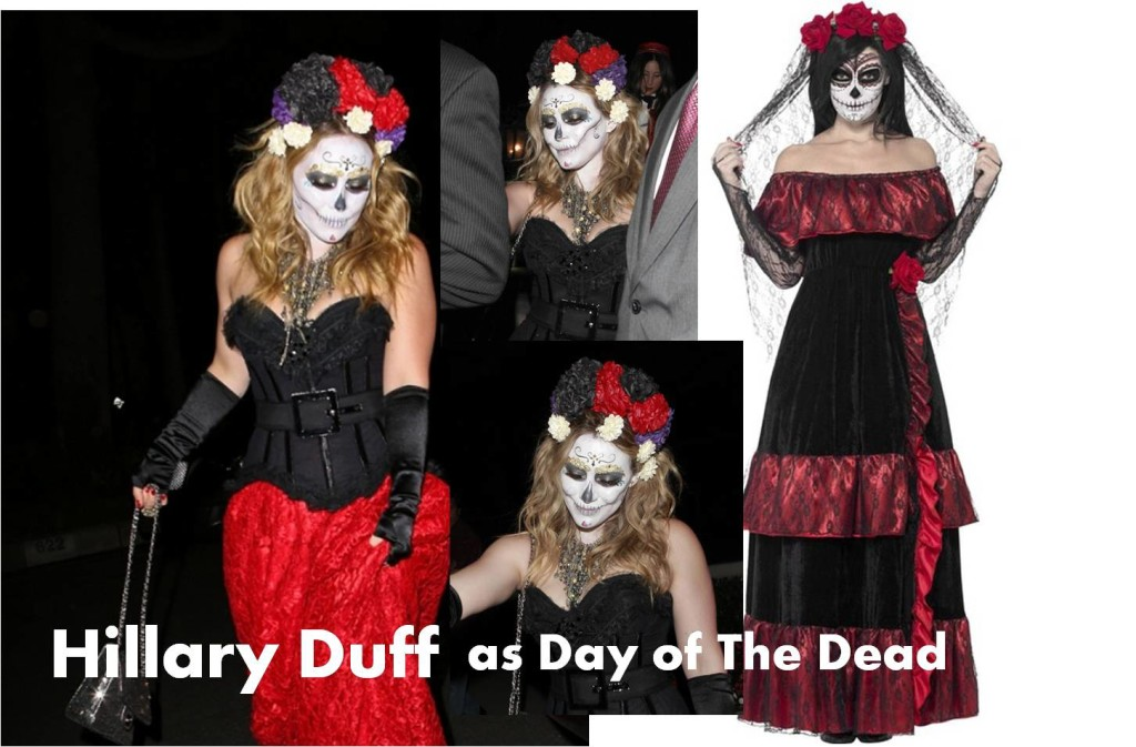 Image source: Click to check The Day of the Dead Costume