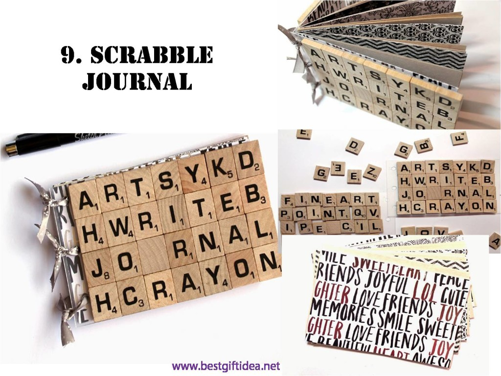 scrabble gift ideas