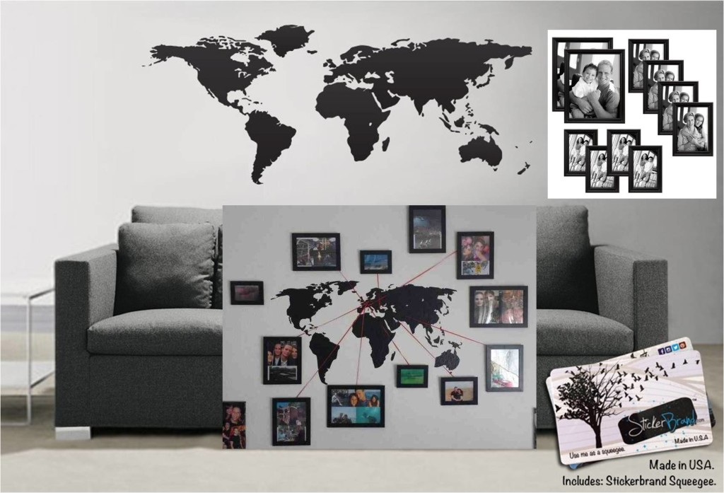 travel wall picture frames
