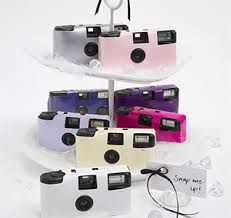 disposable weddig cameras