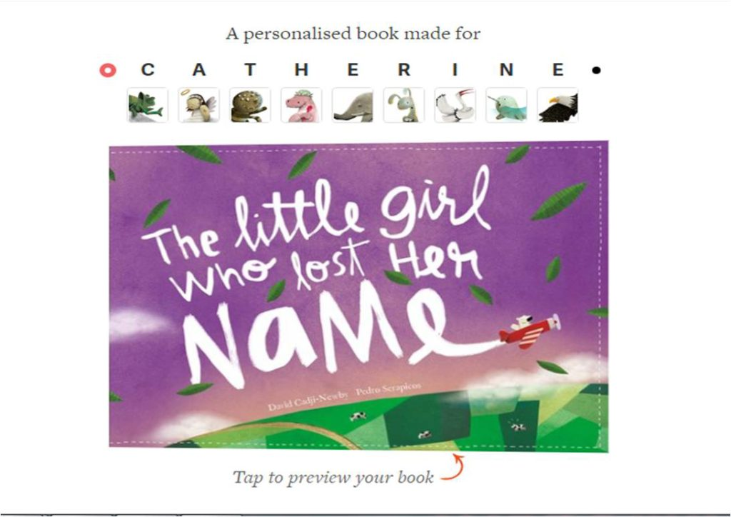 preview lost my name book