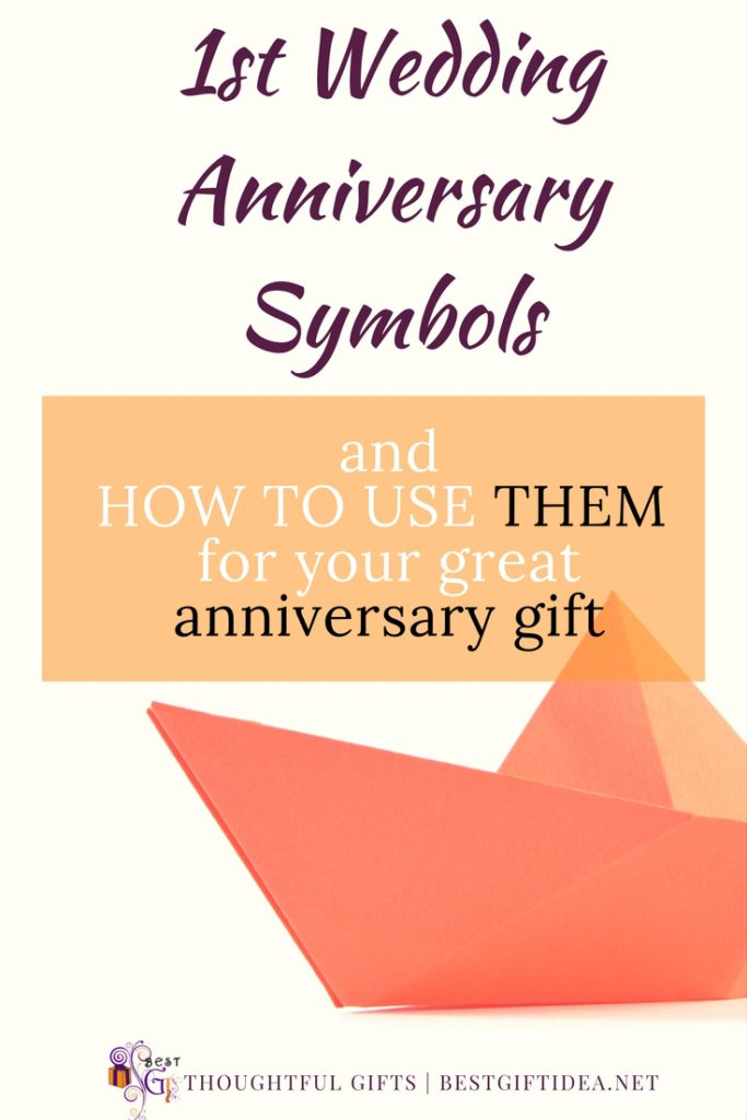 What Is First Wedding Anniversary Symbol Modern And Traditional