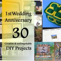 30 diy projects for paper anniversary gift