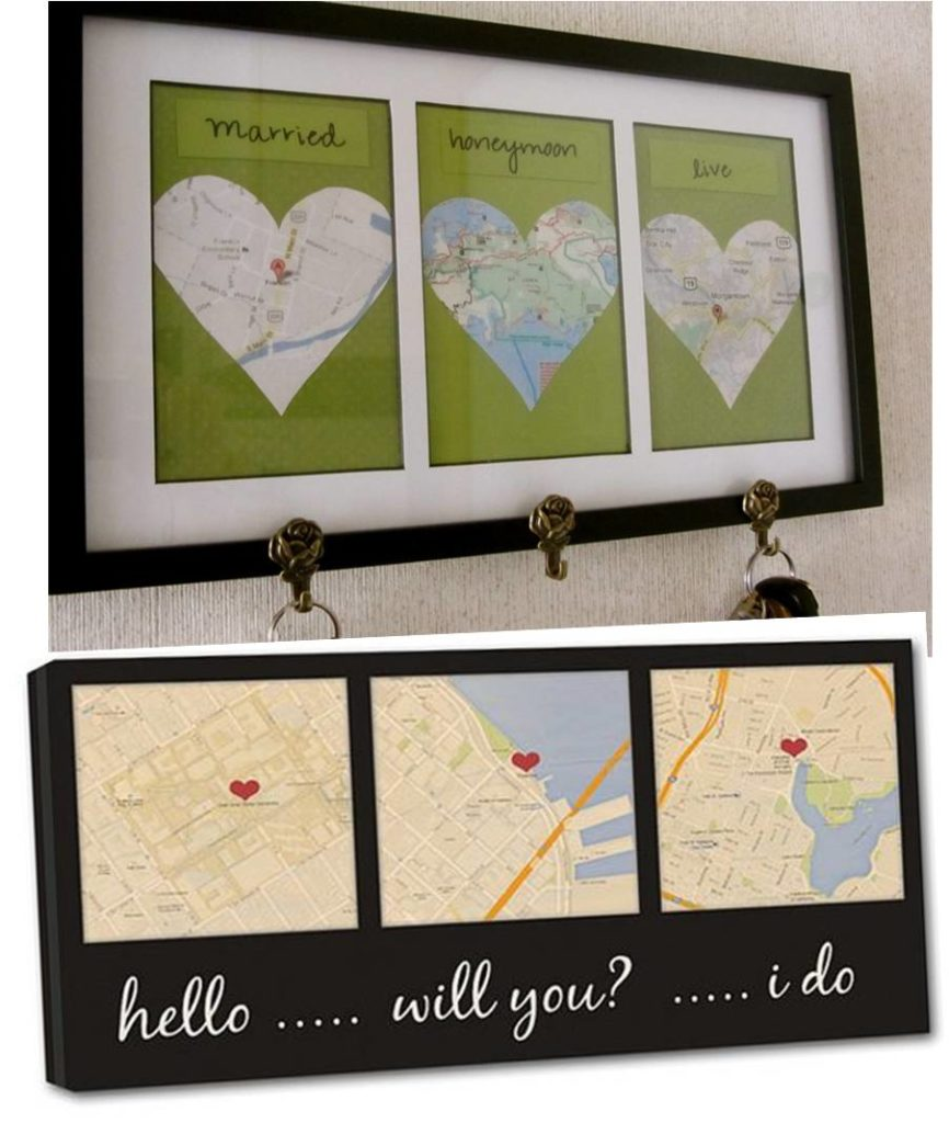 Best gift idea first wedding anniversary gift to make 30 for Handmade anniversary gift ideas