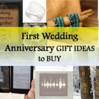 first anniversary gift ideas