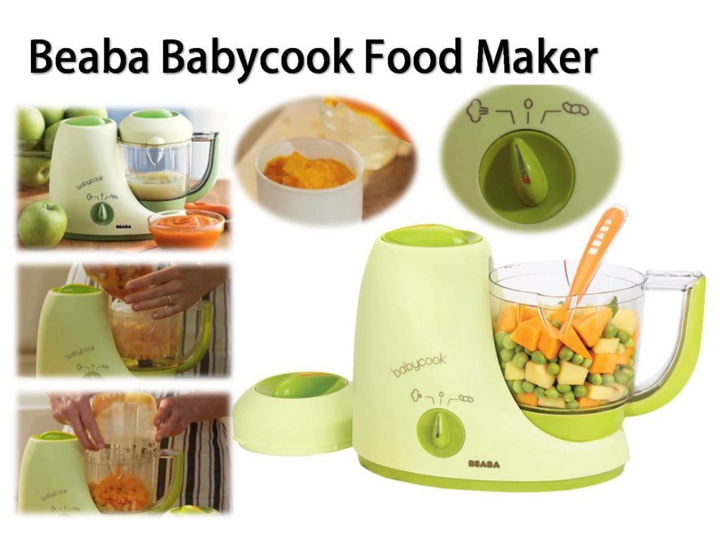 Beaba Babycook Baby Food Maker How To Use