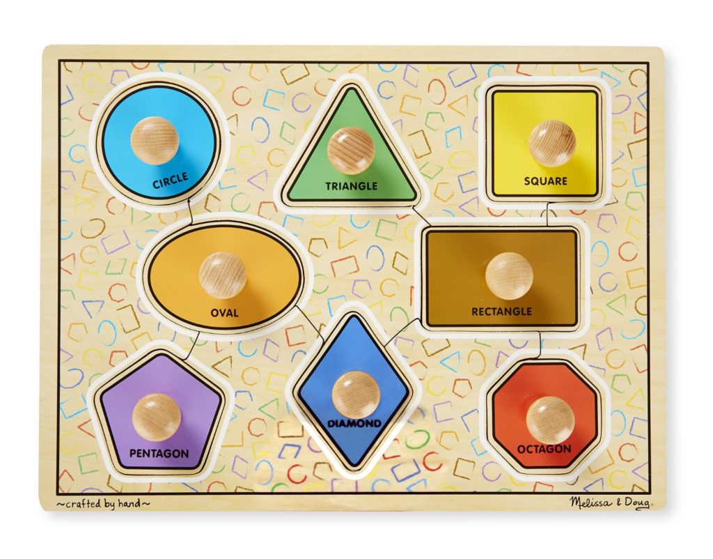 baby shape puzzle board
