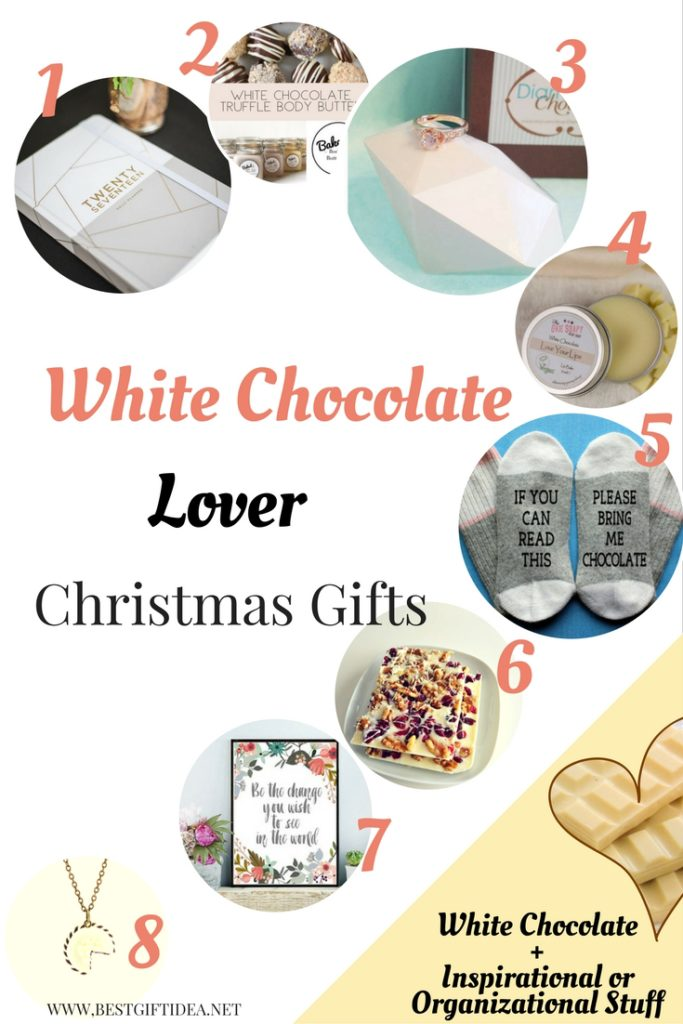 white chocolate lovers gifts