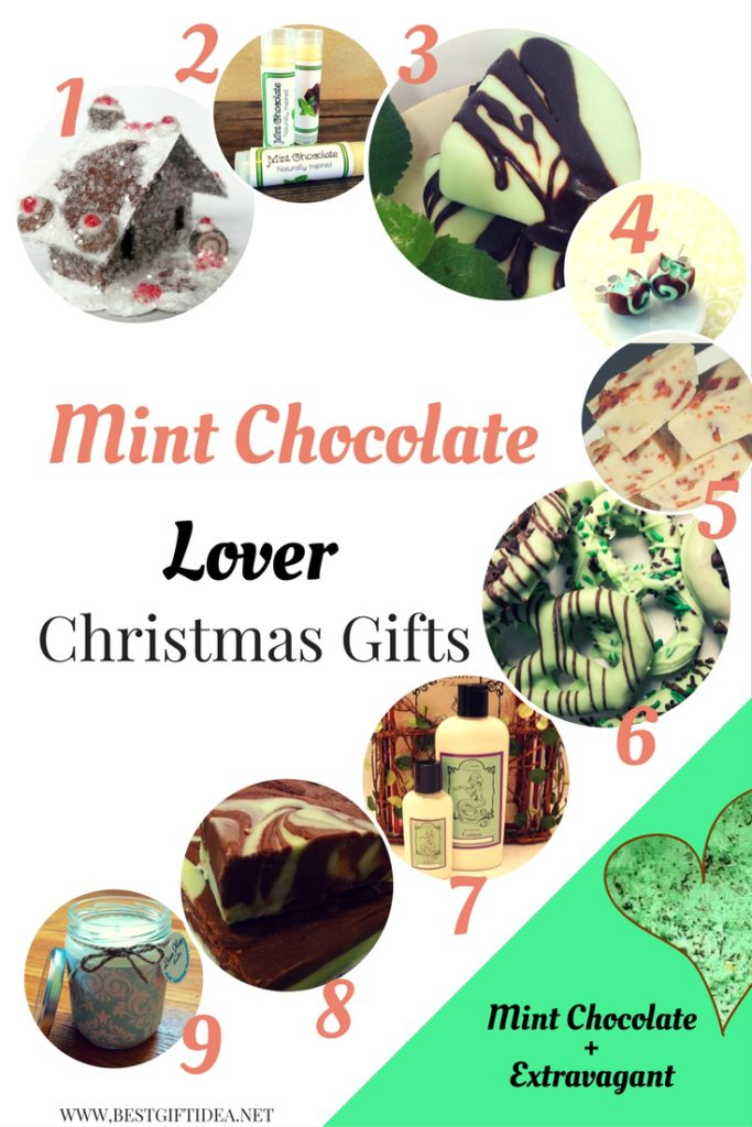 mint chocolate lovers gifts