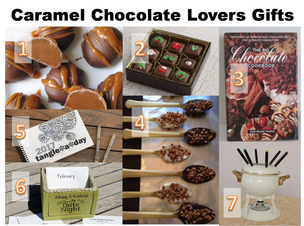 caramel chocolate lovers gifts