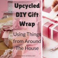 upcycled diy gift wrapping collectibles