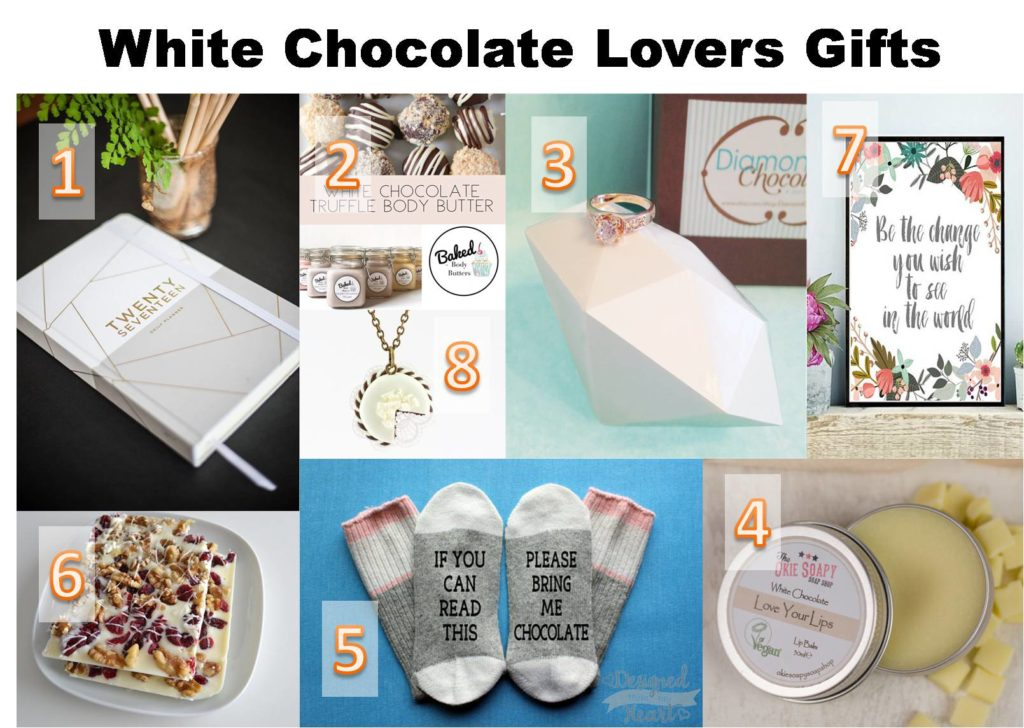 whitel chocolate lovers gifts