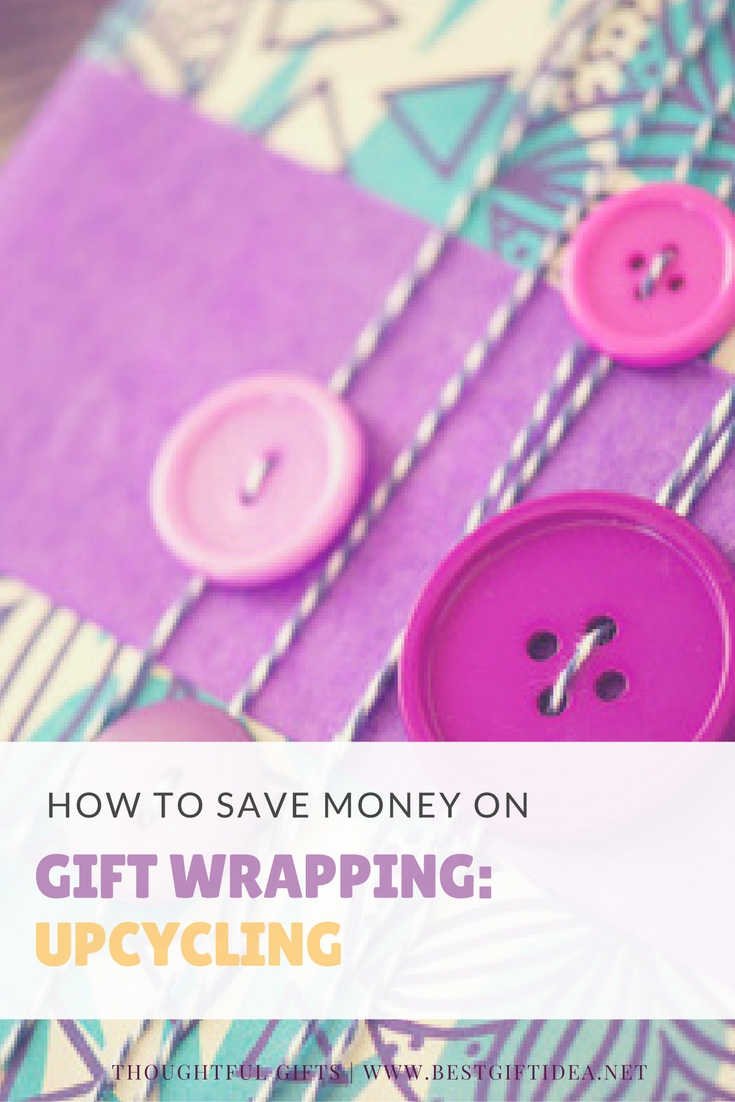 how to save money on gift wrapping