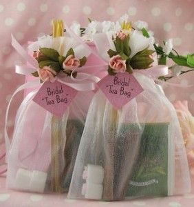 organza gift bags repurposed