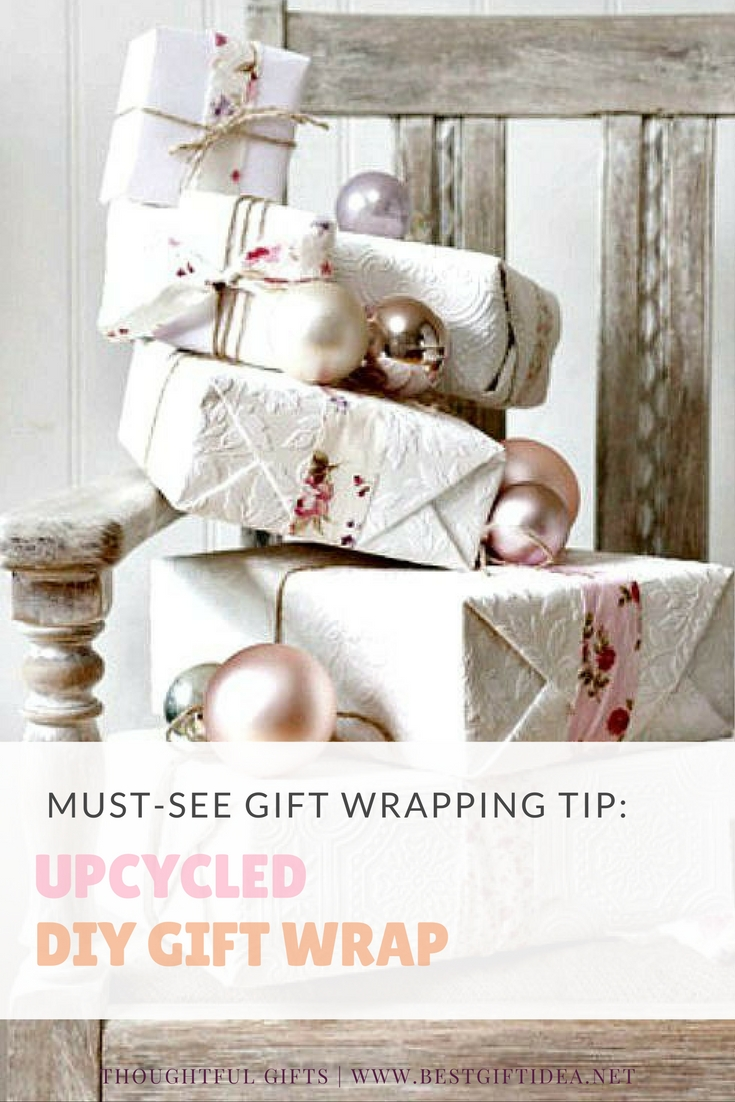 upcycled diy gift wrap ideas