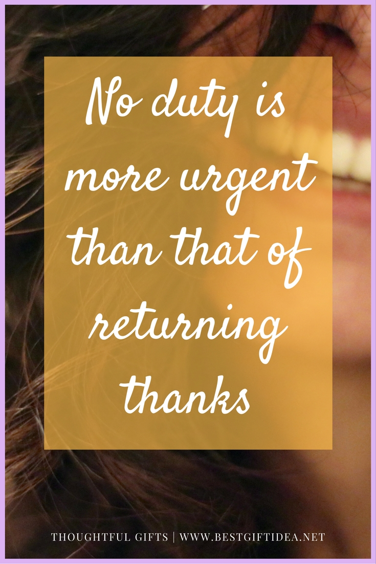 thank you quote