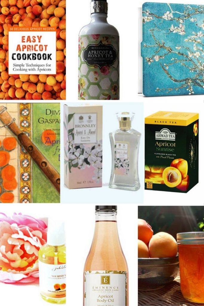 apricot themed gifts