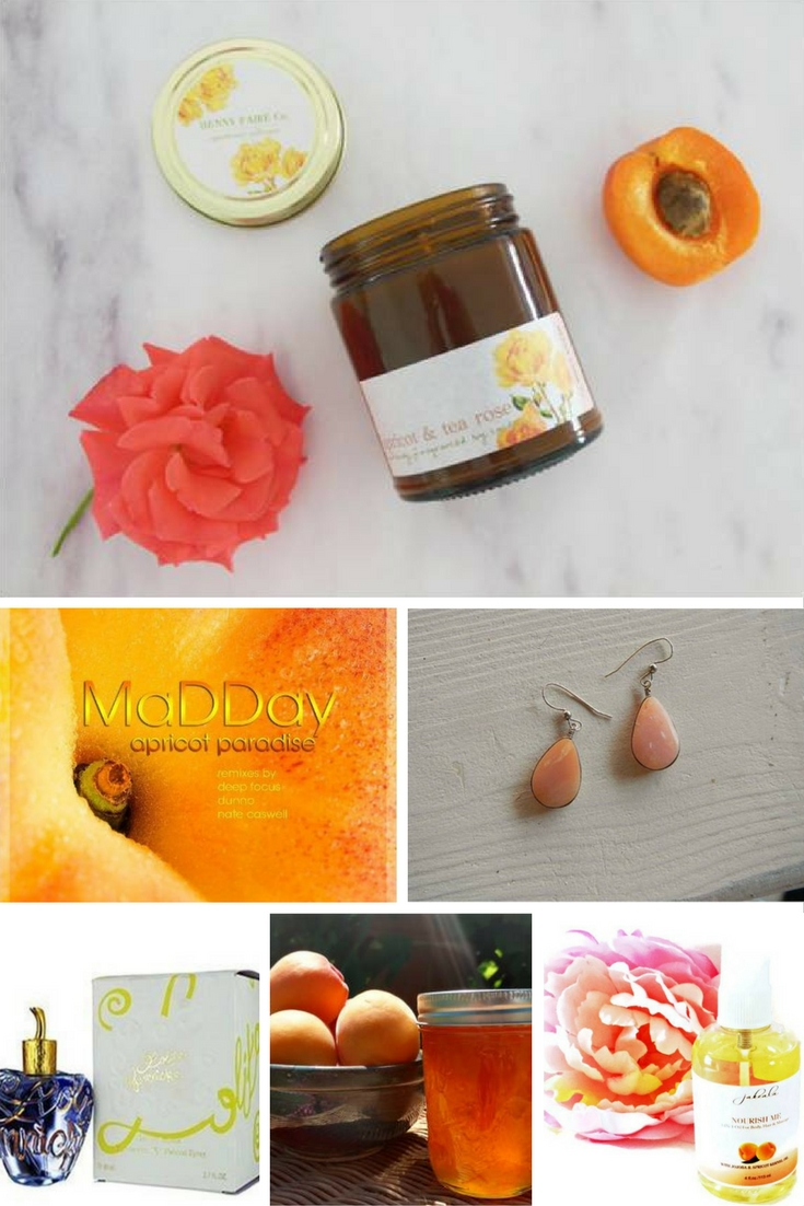 apricot-themed gifts