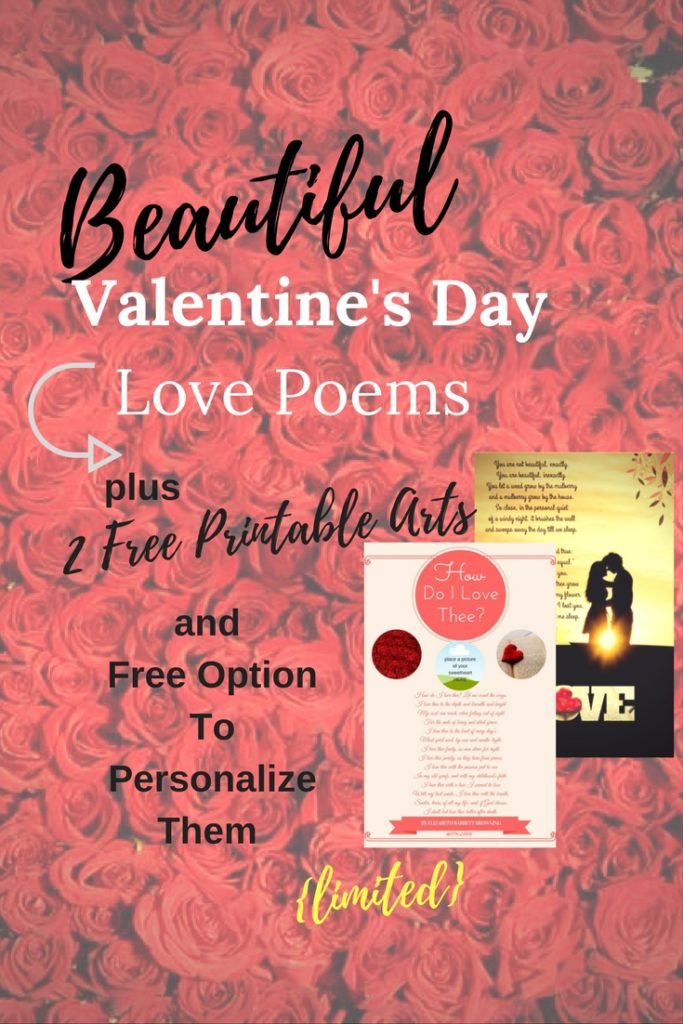 beautiful valentines day poems