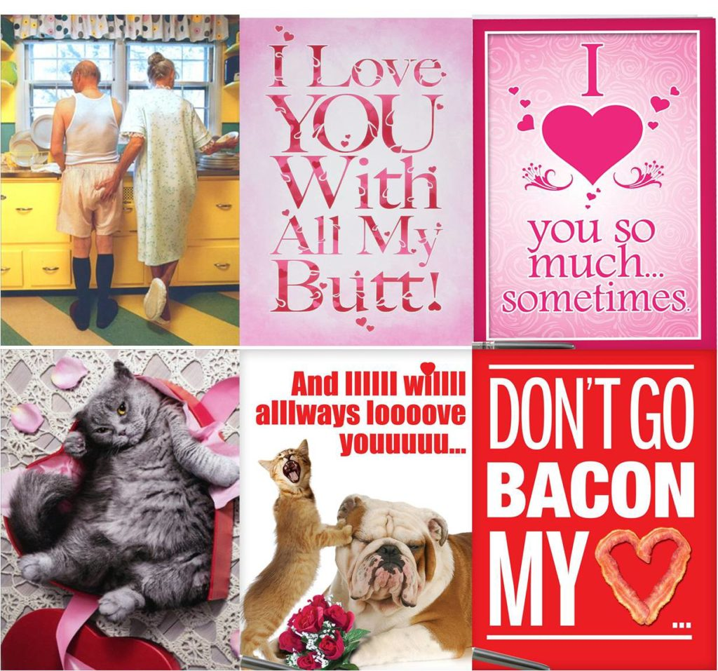 funny valentines greeting cards
