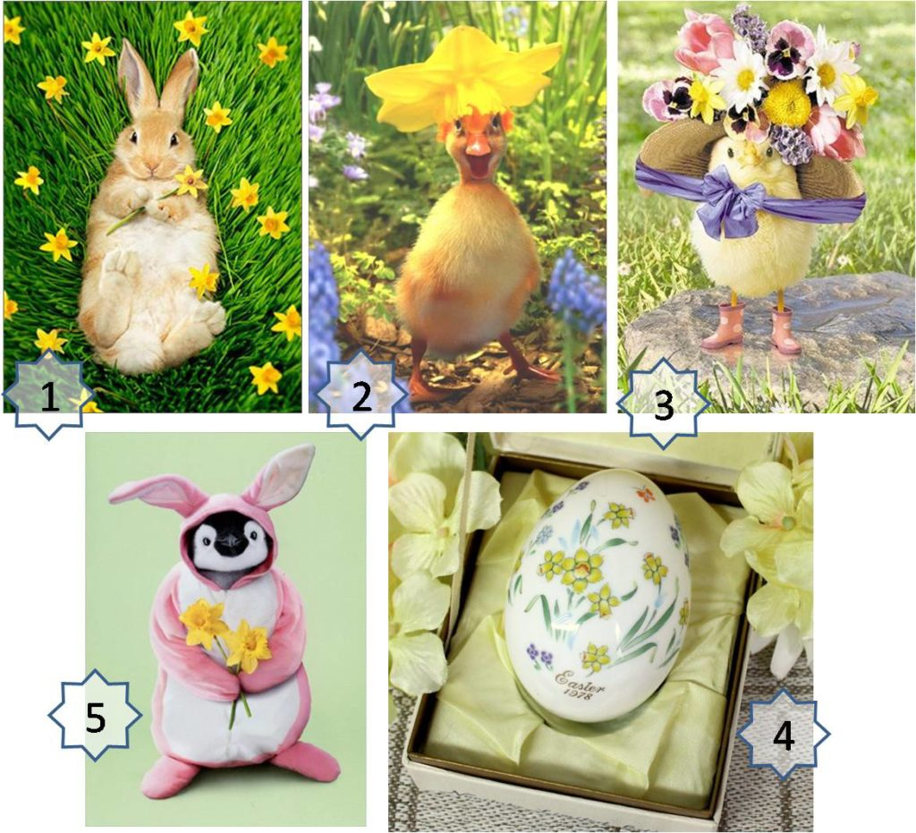 daffodil gifts for easter