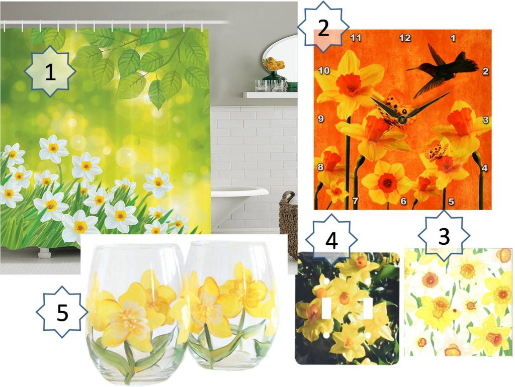 daffodil decoration gifts