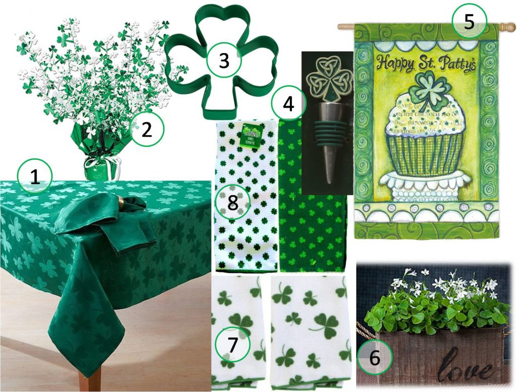 st patricks day decoration items