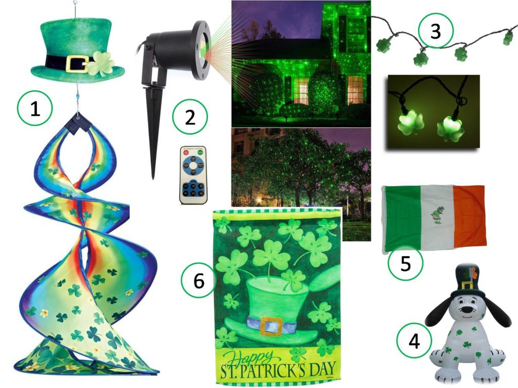 st patricks day outdoor decoration