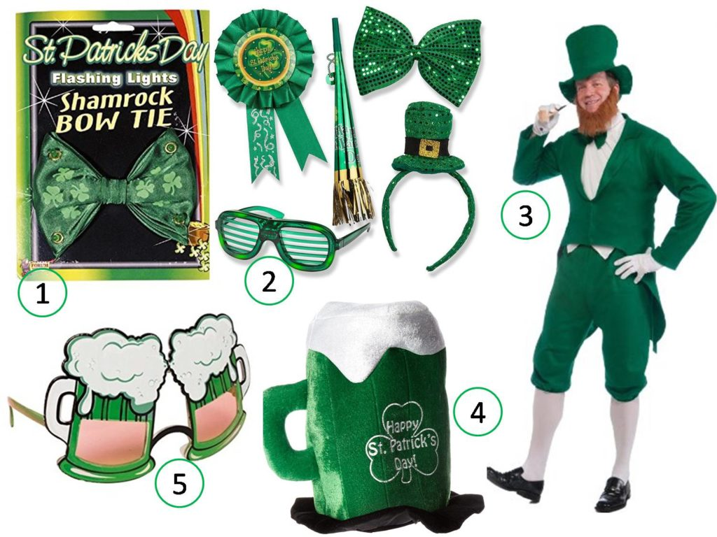 st patricks day party accessories